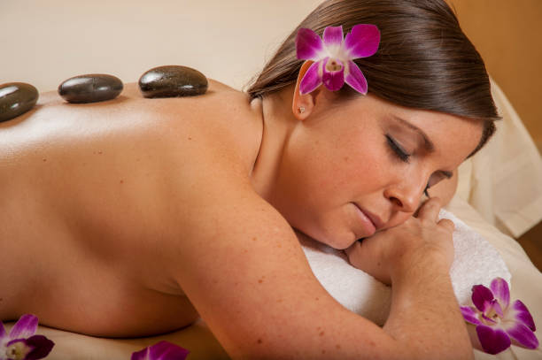Massage Hot Mineral Stone – Foto
