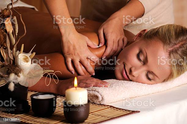 Massage Of Shuolder Stock Photo - Download Image Now