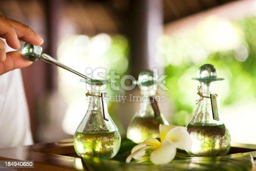 istock Massage oil 184940650