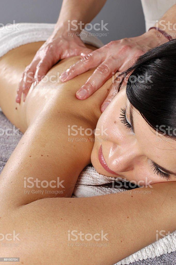 massage #21 royalty-free stock photo