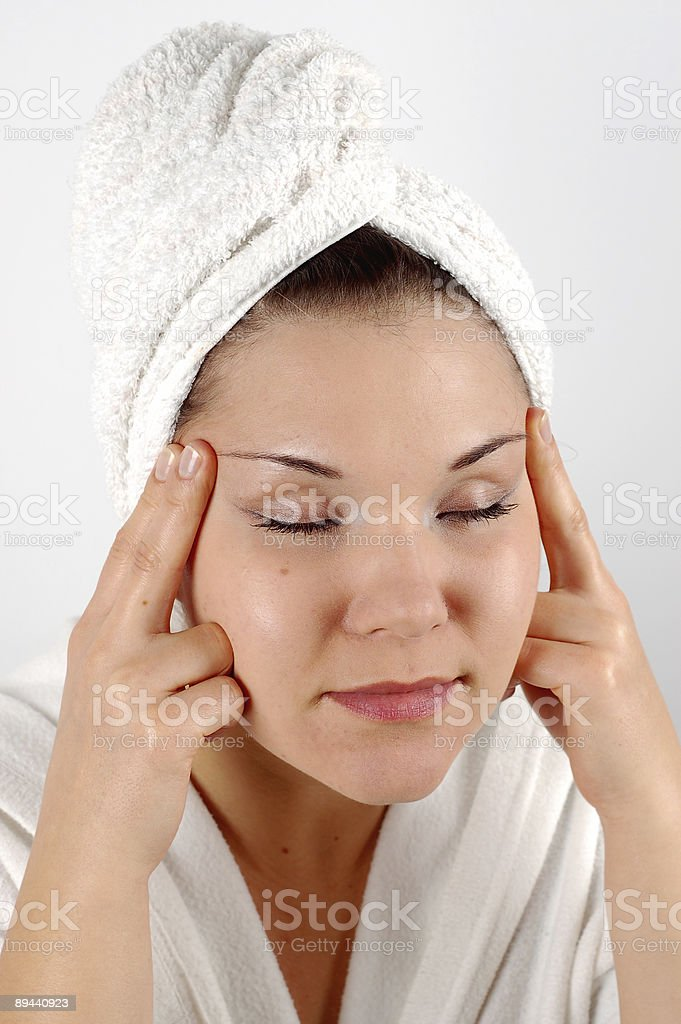 massage #6 royalty-free stock photo