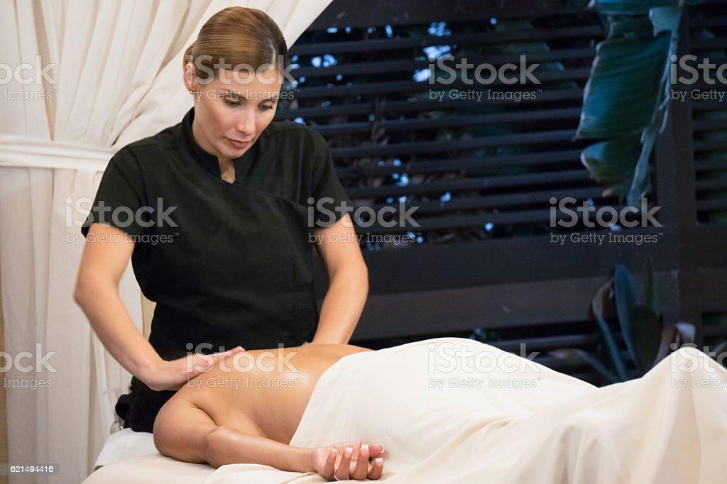 Massage - Professional Lizenzfreies stock-foto