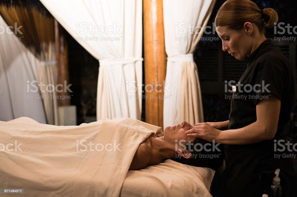 Massage - Professional photo libre de droits