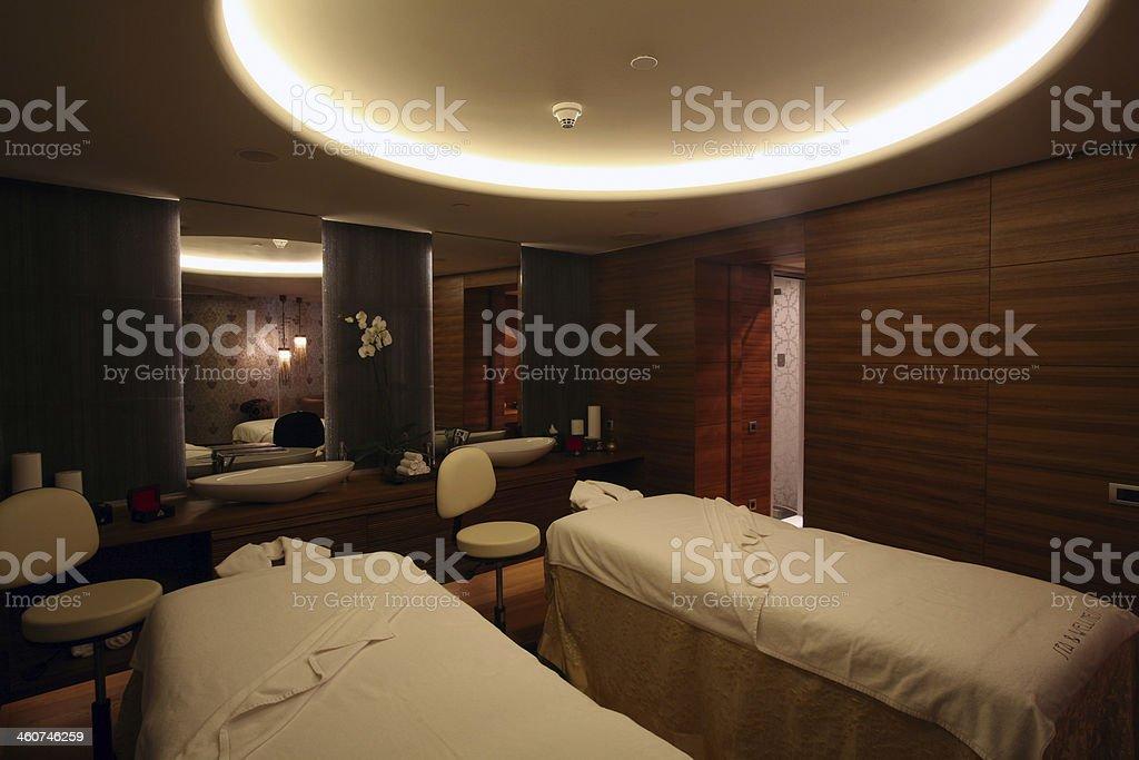 massage room stock photo