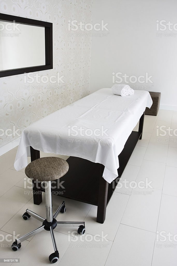 massage room royalty-free stock photo