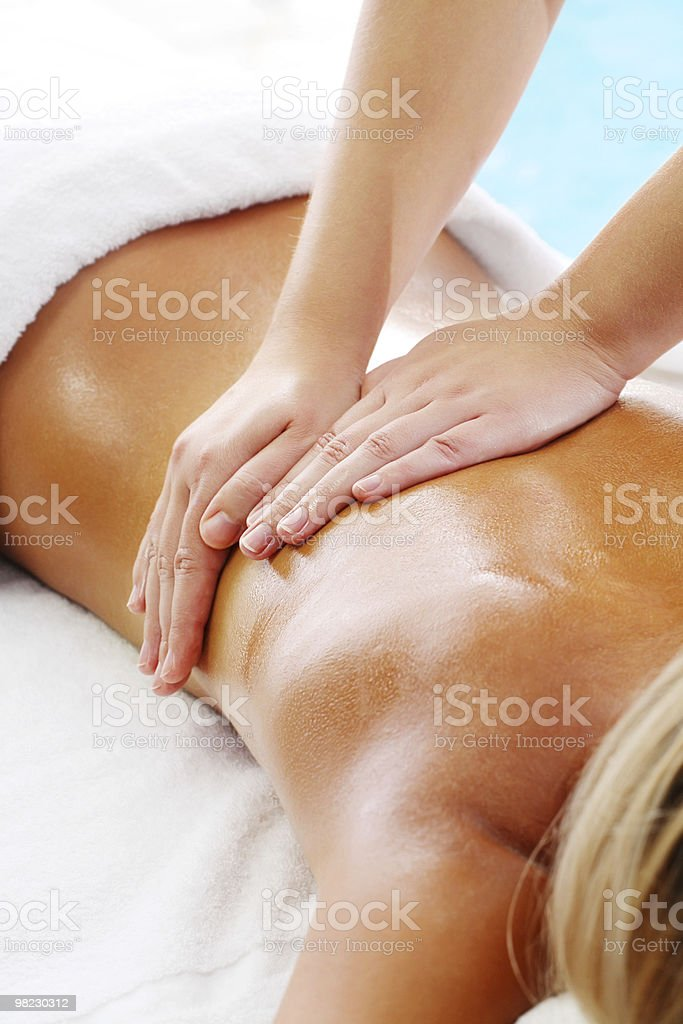 Massage Techniques I royalty-free stock photo