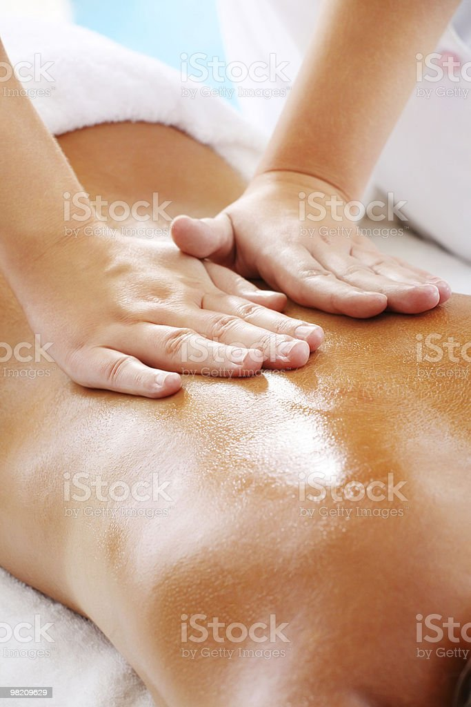 Massage Techniques II royalty-free stock photo