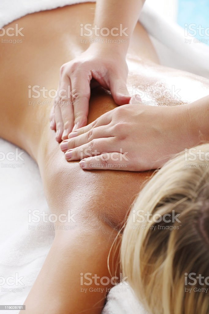 Massage Techniques III royalty-free stock photo