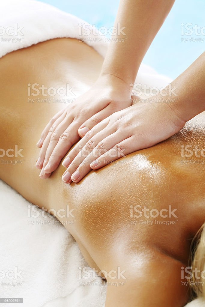Massage Techniques IV royalty-free stock photo