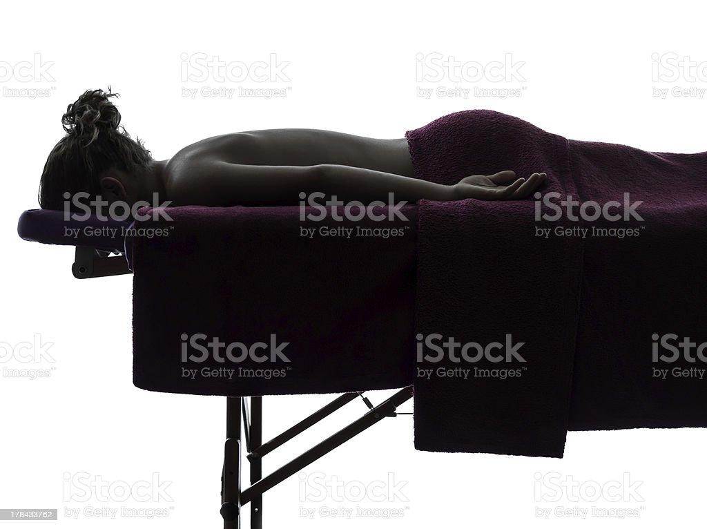massage therapist stock photo