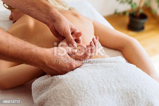 525211834 istock photo Massage therapy 490013712