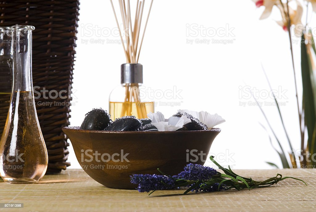 massage time royalty-free stock photo
