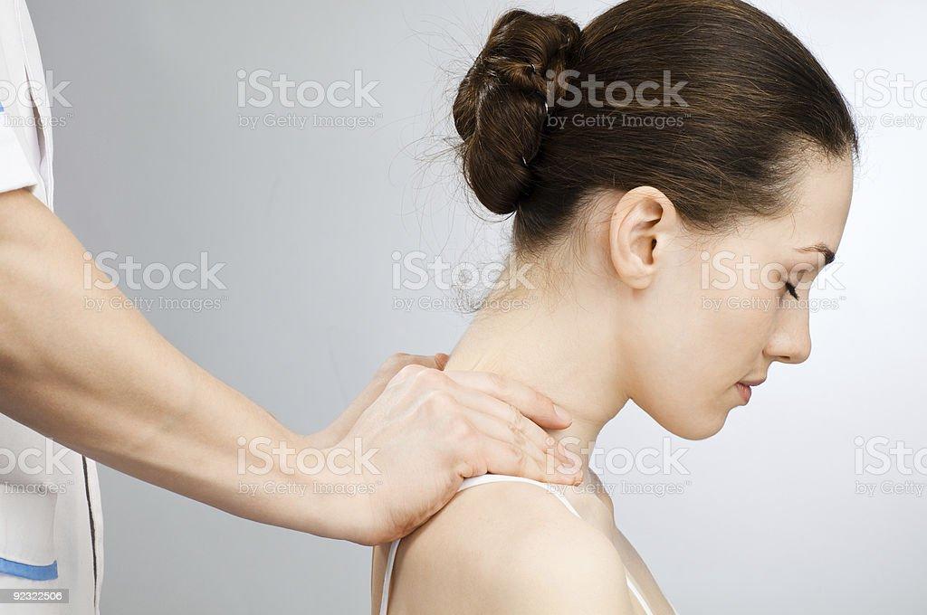massaged royalty-free stock photo
