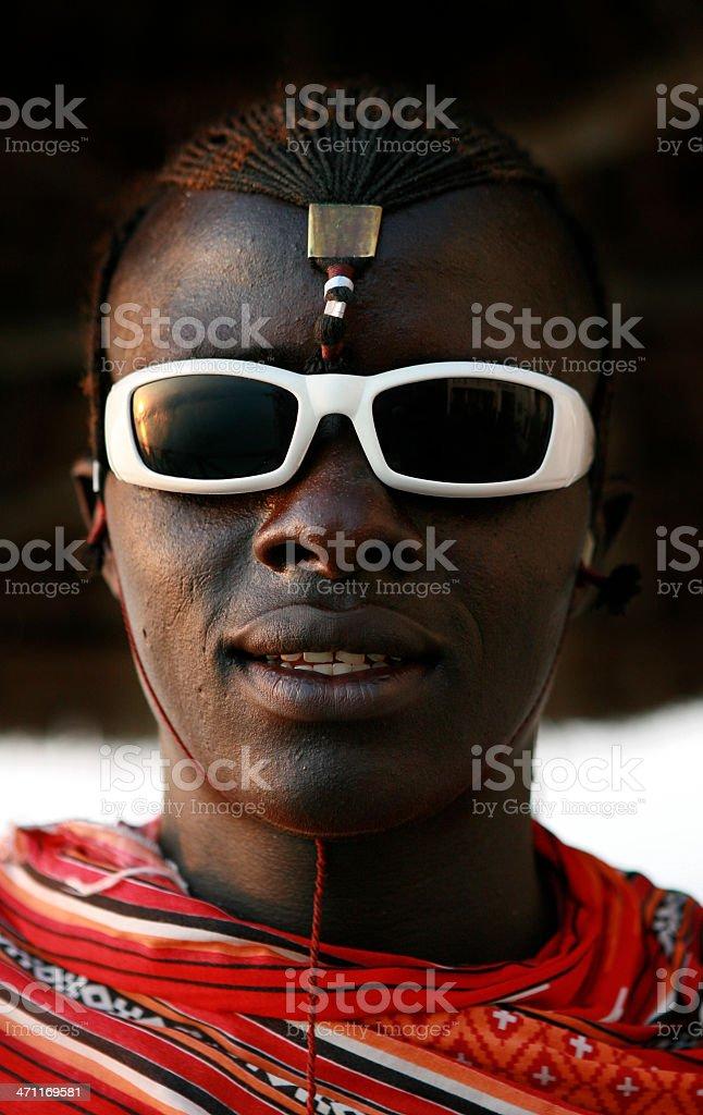 Massai stock photo