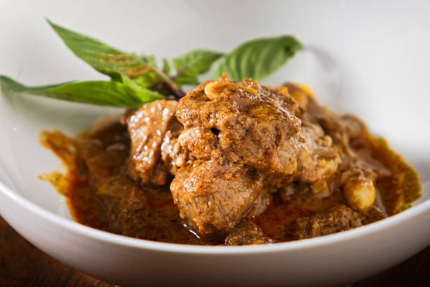 Massaman Curry Massaman Curry curry powder stock pictures, royalty-free photos & images