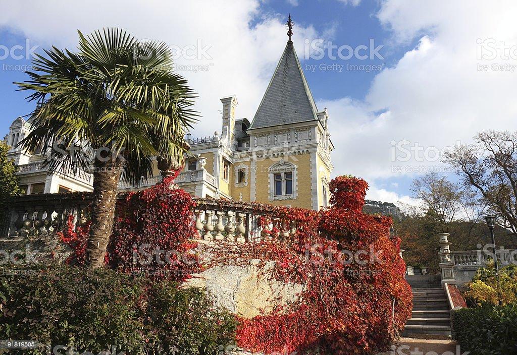 Massandra palace of Alexander III royalty-free stock photo