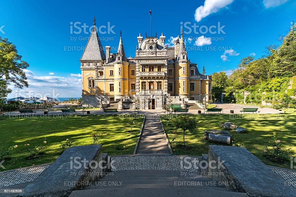 Massandra palace of Emperor Alexander III foto stock royalty-free
