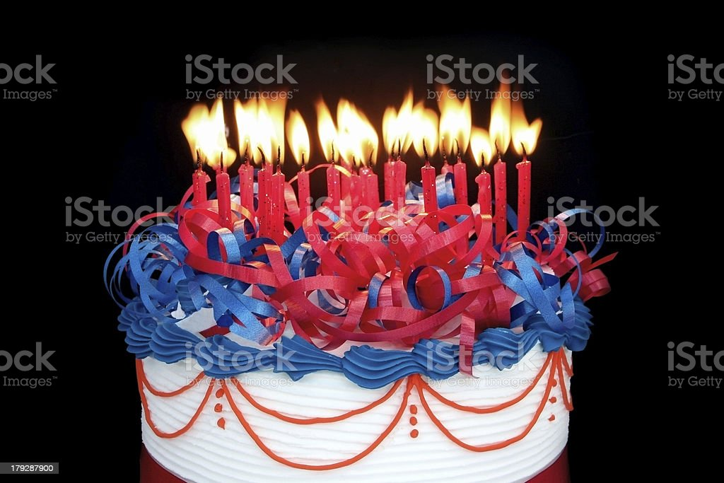 Masses of Candles stock photo
