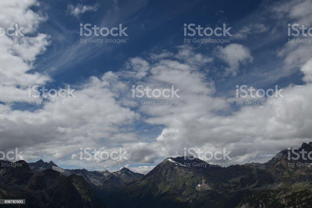 Massiccio Del Disgrazia (Valmalenco) stock photo