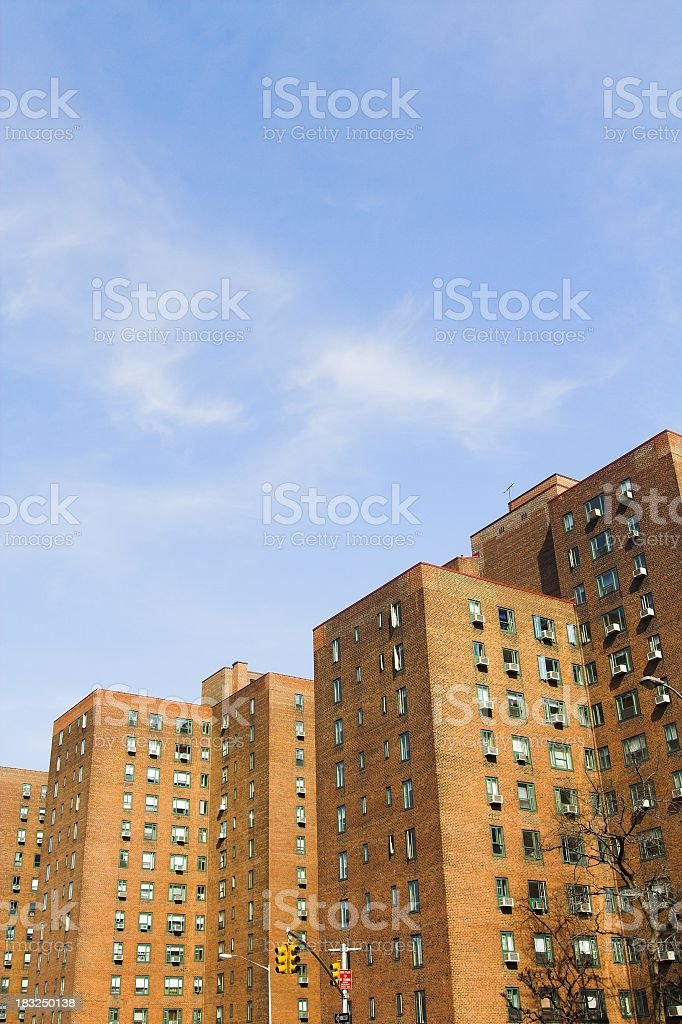Massive Apartment Complexes royalty-free stock photo