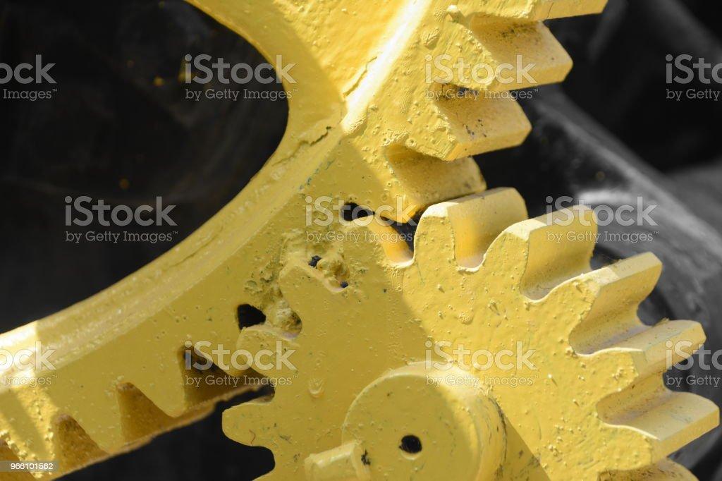 Massive gear - Royalty-free Clockworks Stock Photo