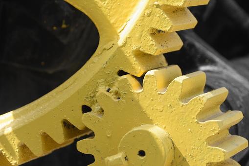 Massive Gear - Fotografias de stock e mais imagens de Amarelo