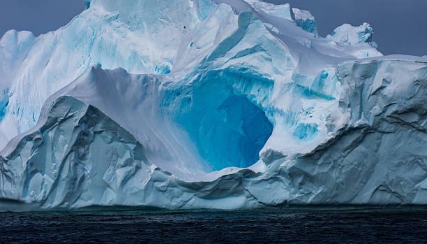 Massive Iceberg floating in Antarctica - Photo
