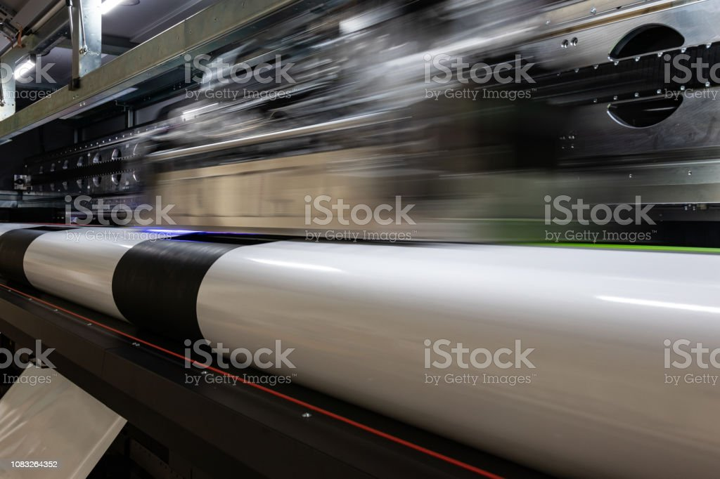 photograph about Printable Vinyl Rolls titled Mive Equipment Proficient Printing Facility Substantial Vinyl