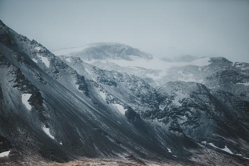 Massive mountain on Iceland