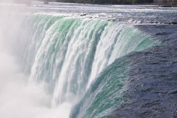 Massive Niagara Falls in Ontario, Canada stock photo