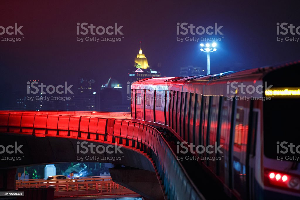Masstransit train stock photo