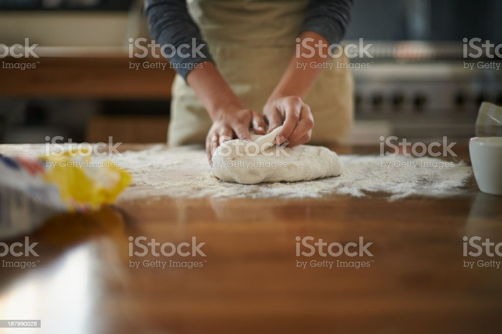 Master baker... stock photo