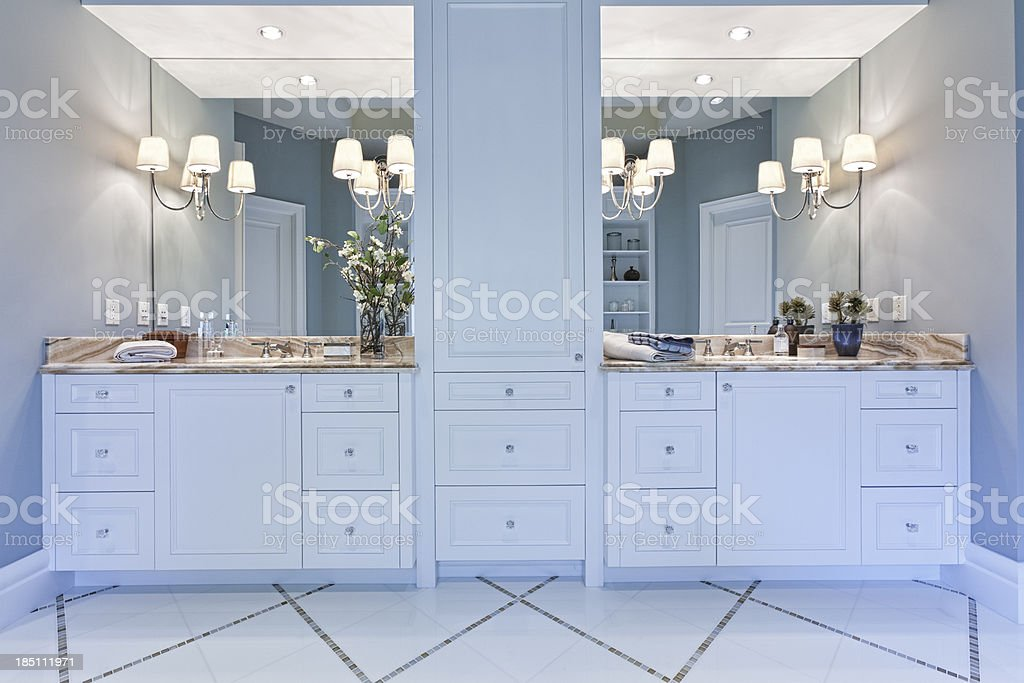 Master Bathroom stock photo