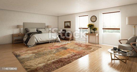 istock Master Bedroom Interior 1146709045
