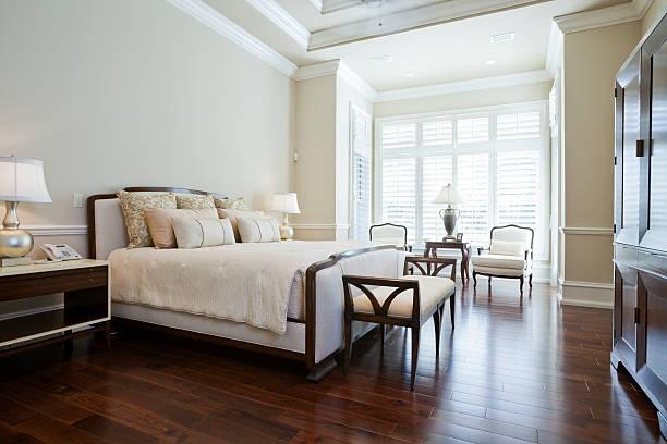 Camera da letto principale - foto stock