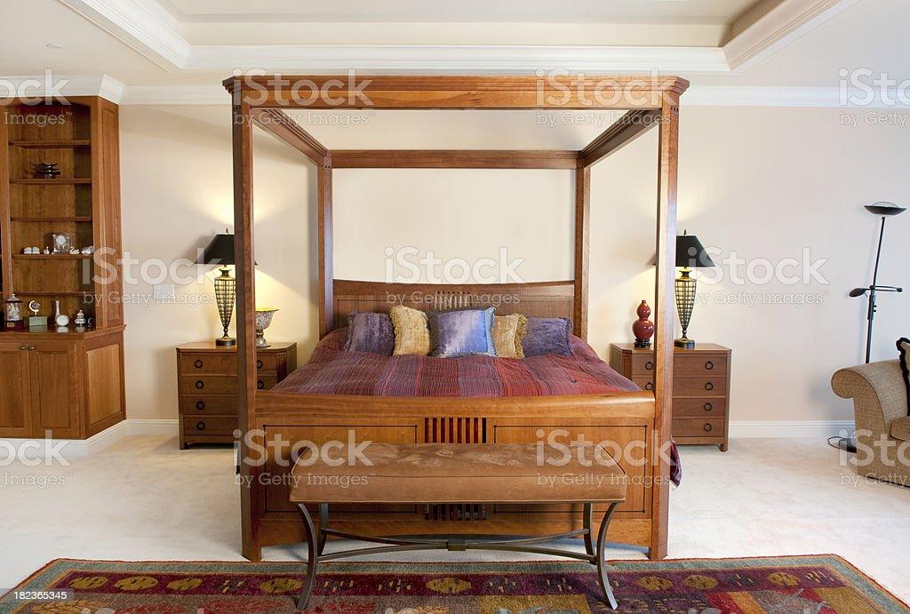 Master Bedroom royalty-free stock photo