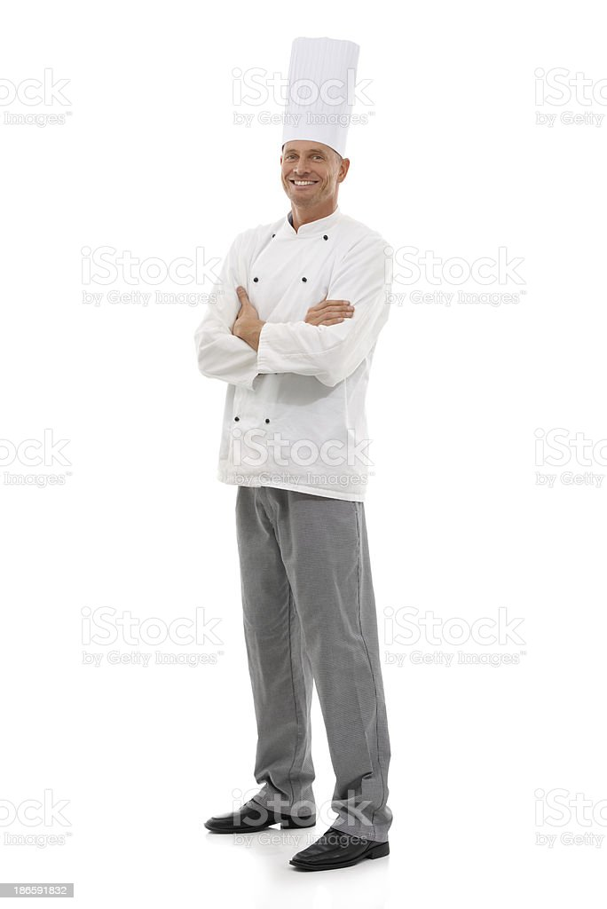 Master chef! stock photo