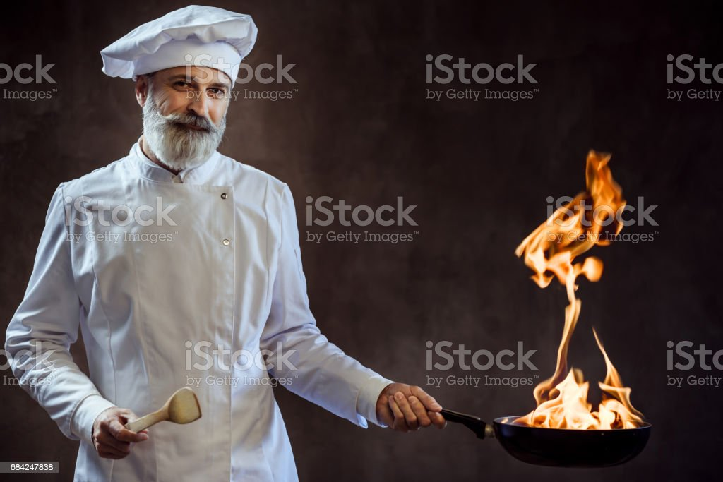 Master chef royalty-free stock photo