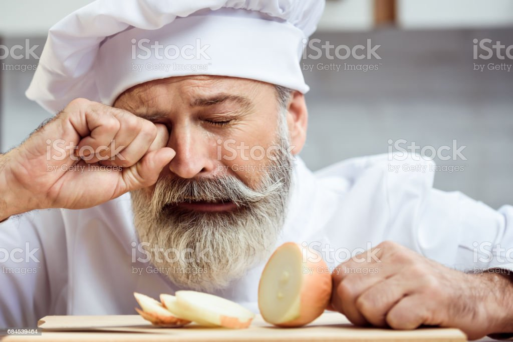 Master chef stock photo