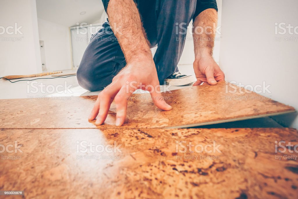 Master Class For Laying Cork Flooring Installation Of A Cork Floor