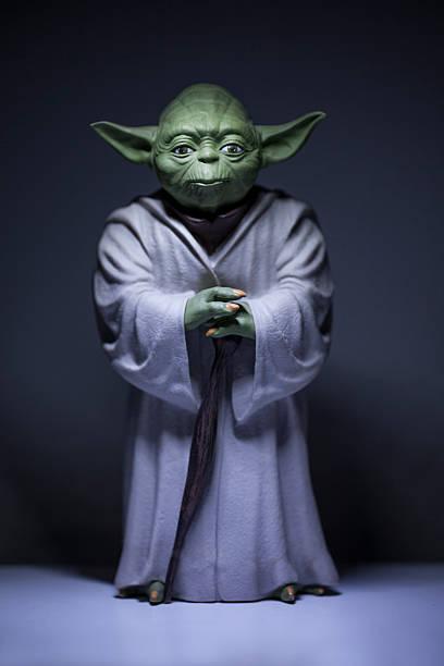 master yoda - star wars - fotografias e filmes do acervo