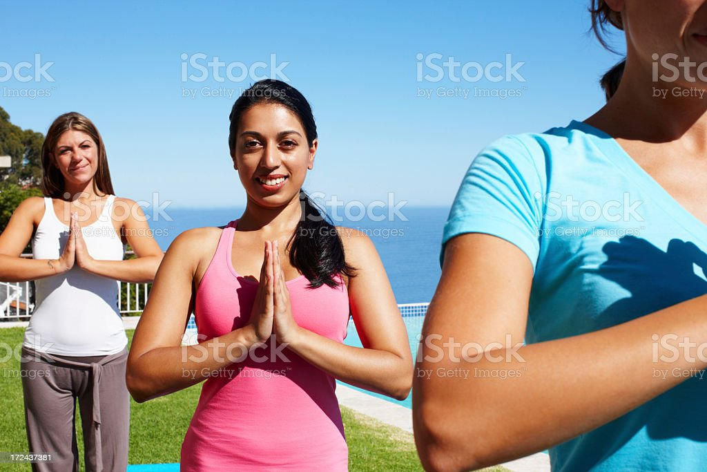 Masters of inner peace royalty-free stock photo