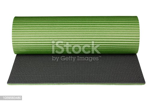 istock Mat isolated on white background as package design element 1059583480