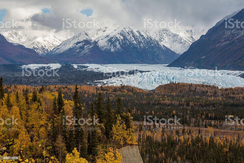 Matanuska Glacier, Alaska stock photo