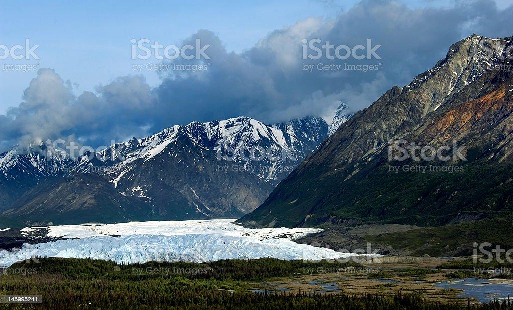 Matanuska glacier royalty-free stock photo