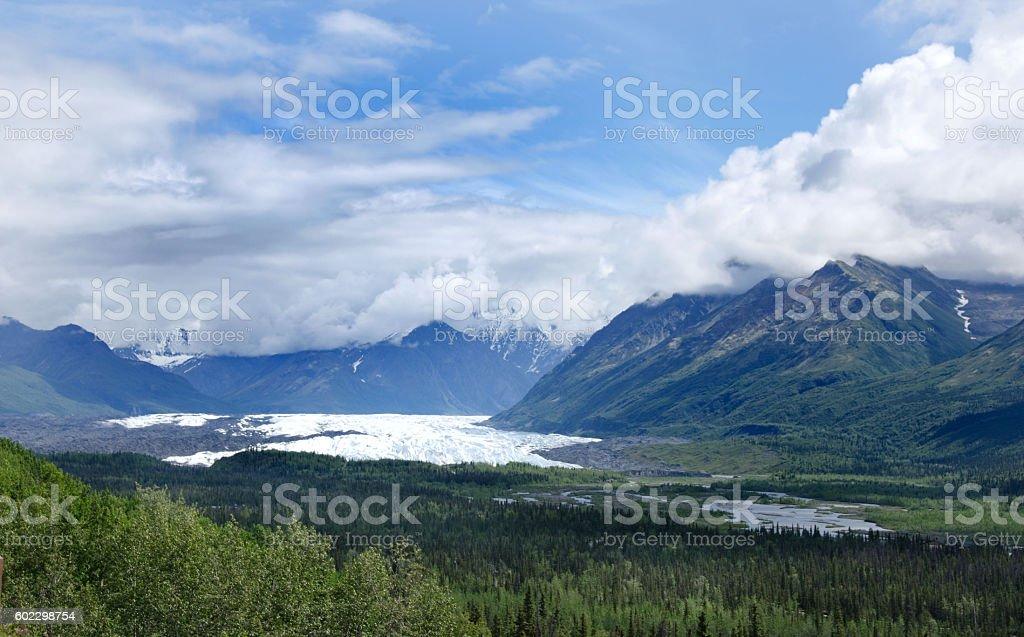 Matanuska Glacier stock photo