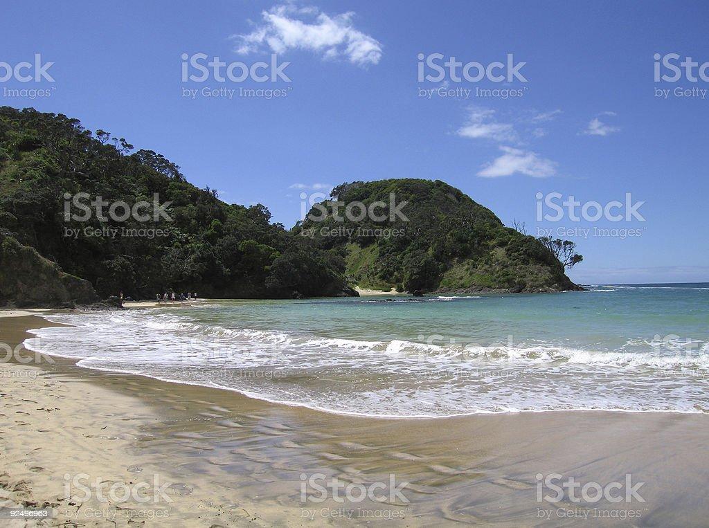 Matapouri beach royalty-free stock photo