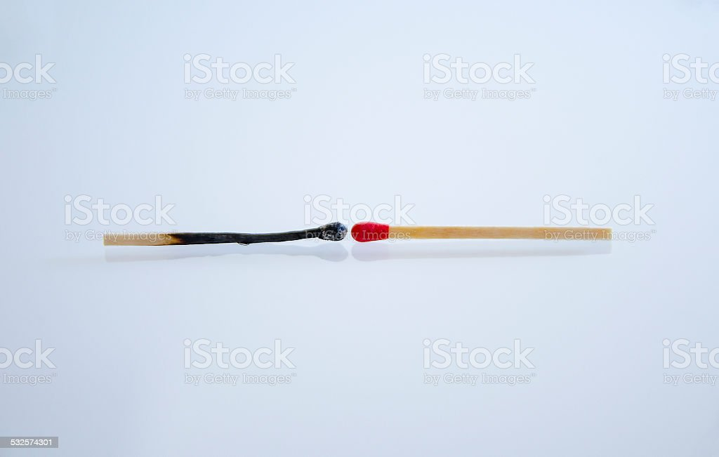 Match and Life stock photo