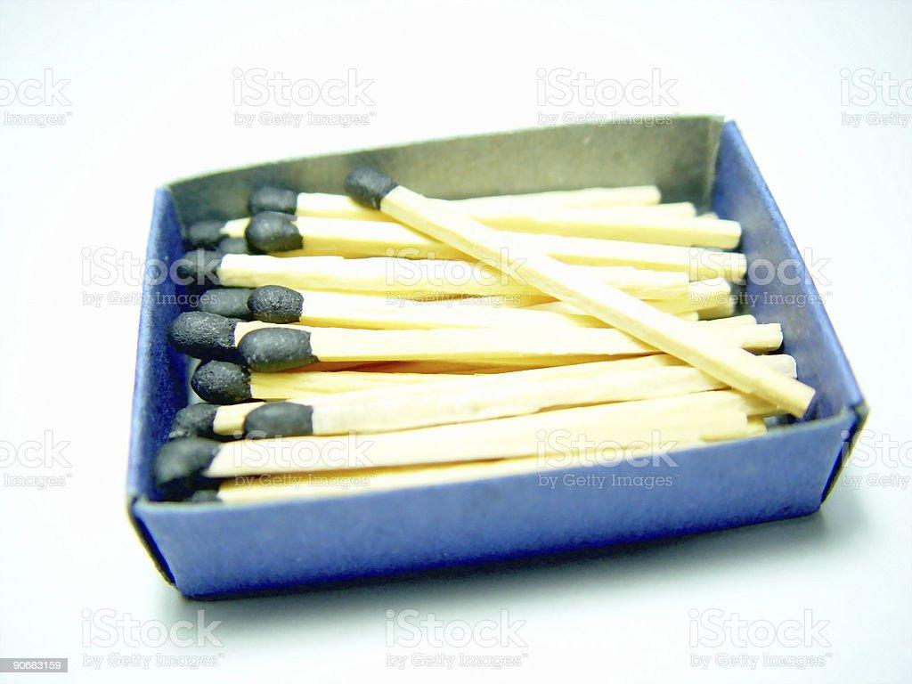 Match Box stock photo