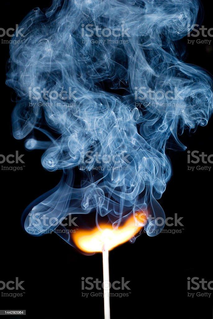 Partida de queimar - foto de acervo